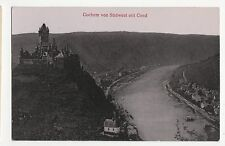 Germany, Cochem von Sudwest mit Cond Postcard, A598