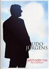 Udo Jürgens - Jetzt oder nie - Songbook + 1 Bleistift Musikmotiv