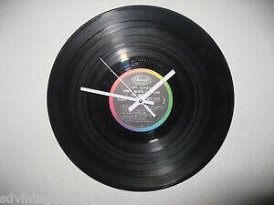 Vinyl Record Wall CLOCK Retro Recycled Album Gift Art  Zeppelin Pink Floyd Who