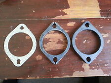"""3"""" 76mm exhaust flange set kit 2 bolt 105MM BHC commodore falcon"""