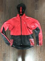 Pearl Izumi Convertible Cycling Jacket Size Medium And Castelli Cycling Cap