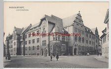 (111462) AK Rudolstadt, Justizgebäude, Amtsgericht, um 1907