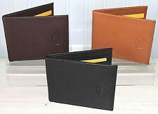 Leather Wallet Credit Card Holder * Black, Brown or Tan