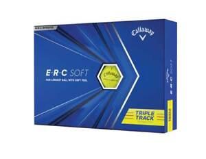 NEW Callaway 2021 ERC Soft Golf Balls - Yellow - Drummond Golf
