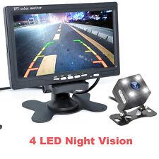 """7"""" TFT LCD Monitor+Night Vision Car Rear View System Night Vision Backup Camera"""