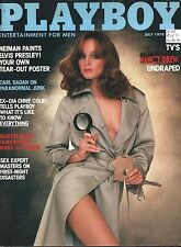 Playboy July 1978 Nancy Drew Neiman Elvis Poster CIA Bill Colby Dr Masters Sagan