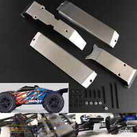 Stainless Steel Chassis Armor Protect Skid Plate for Traxxas E-Revo 2.0 86086-4
