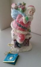 Christopher Radko Resin Home For The Holidays Figurine Plays Santa clause is com
