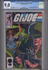 G.I. Joe #45 CGC 9.0 1986 Marvel War Comic: 1st Quick Kick: NEW CGC FRAME