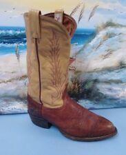 Mens Tony Lama Boots 8.5 EE Brown