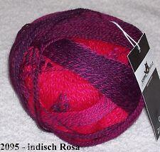 Schoppel-sockenwolle Crazy Zauberball indisch rosa