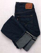 X115 Levi's 501 Redline Selvedge Boyfriend Straight Leg Mom Jeans Tag sz 27x32