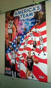 AMERICA'S TEAM NBA 1992  Basketball POSTER!