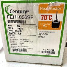 NEW CENTURY FEH1056SF Condenser Fan Motor, 1/2 HP