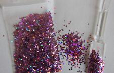 "ca. 2g Holo Glitter / Pailetten Nailart in "" Flieder irisierend """