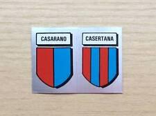 FIGURINE LAMPO / FLASH - CALCIO FLASH '82 -SCUDETTI: CASARANO/CASERTANA -ARGENTO
