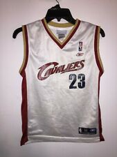Youth Size M Adidas Nba Cleveland Cavaliers #23 LeBron James Basketball Jersey