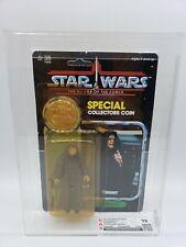 Star Wars POTF 92-back THE Emperor CAS 75 Not AFA POTF KENNER Coin RARE! 1984