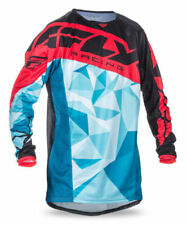 Maillots de cross rouges Fly
