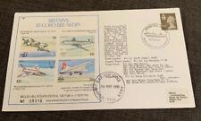 1981 Britain's Record Breakers Flight Cover FDC