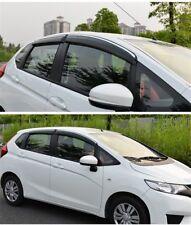 For Honda Fit 2015-2018 Window Visor Rain Sun Deflectors Guard Vent Shade