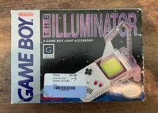 Vintage 1990 Nintendo Game Boy Illuminator with original box And Instructions