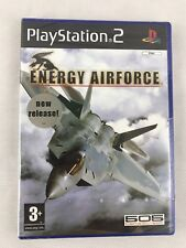 PS2 Energy Airforce (2005), UK Pal, Brand New & Sony Factory Sealed, Small Tear