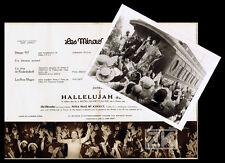 HALLELUJAH Phot+Prog HAYNES VIDOR Soul Noir McKINNEY Gospel Cinéma MIRACLES 29