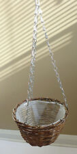 Willow Hanging Hooks Basket For Artificial or Fresh Flowers Vase