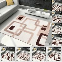 SMALL EXTRA LARGE SOFT THICK PILE SHAGGY AREA FLOOR RUGS MODERN DESIGN CARPETS