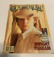 Vintage Country Music Magazine July/August 1991 Dwight Yoakam Cover