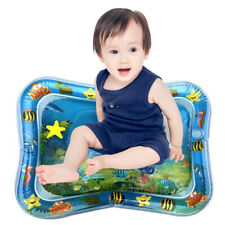 Inflatable Water Mat Infant Baby Tummy Time Play Pad Growth Stimulation Toy Usa