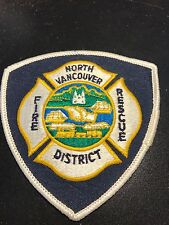 North Vancouver Fire Rescue Patch