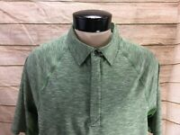 Duluth Trading Polo Shirt Men's M Green Breezeshooter