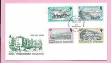 GUERNSEY 1982  Mercury FDC - OLD GUERNSEY PRINTS - Unaddressed H/stamped