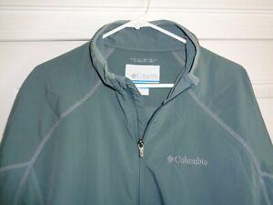 Columbia OmniTech Large Long Sleeve Jacket - Fantastic Color!!