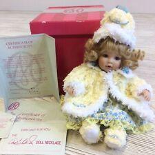 New Listing Marie Osmond Porcelain Dolls Chenille Tiny Tot C3842 2008 #377
