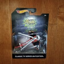 Hot Wheels Batman Classic TV Series The Batcopter New Toy Vehicle Diecast