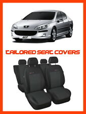 TAILORED SEAT COVERS for Peugeot 407   FULL SET - P1