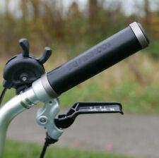 Marron 128//92mm XLC vélo en cuir style vintage cyclisme Poignées Gr-G17