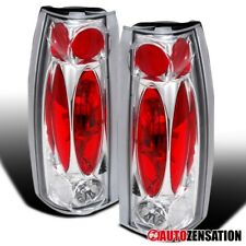 For 88-98 Chevy GMC C10 C/K Silverado Sierra Clear Tail Lights Reverse Lamps