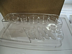 MARY KAY ~ LARGE clear  complete collection display organizer ~ New in box