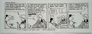 1995 Between Friends Sandra Bell-Lundy Original Art Canada Comic Strip Signed