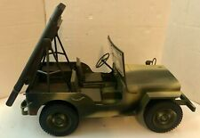 Vintage GI Joe Formative International Willy's T37 Rocket Jeep