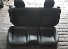 GENUINE ALFA ROMEO 147 LUSSO COMPLETE REAR SEAT BLACK LEATHER  01-10