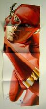 Flash promo poster signed by artist JG Jones DC Comics New 52 The CW The Flash