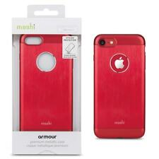Moshi armour Premium metallic case cover for Iphone 7 Red Slim Design New Inbox