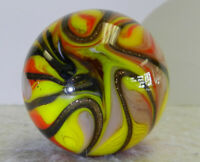 #12784m Handmade Contemporary Marble With Lutz 1.53 Inches