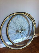 Campagnolo Super Record Hubs With NOS Super Champion Rims Tubular
