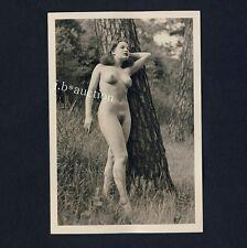 #355 rössler Akt foto/nude woman study * vintage 1950s Outdoors photo-no pc!